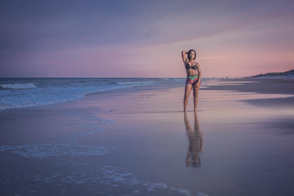Jasmine Onslow Beach Jacksonville Nc Photographer